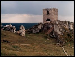 Ruins Of The Castle by Tindomiel-Heriroquen
