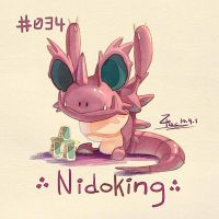 Nidoking by FL-ZC
