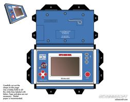 smb game and watch console by cubbes