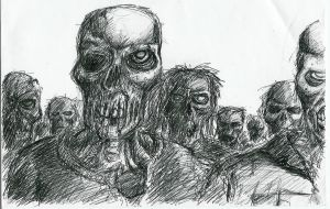 Night of the zombies by Bren1974