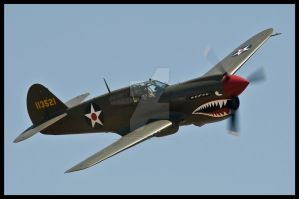 P-40E Chino by AirshowDave