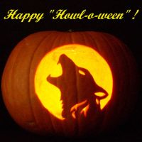 Happy Howl-a-ween by portermzdm