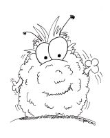 CottonBall Monster by bnspencer