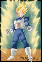 Vegeta SSJ by MrEpicDrawer