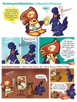 Pirate Penguin Vs Tiny Comics by raisegrate