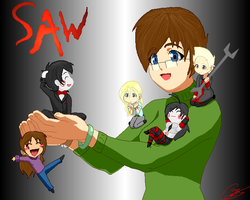 The whole lot of us by Jigsaw-Chan