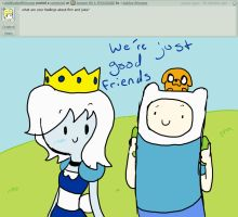 Answer 93 FINN AND JAKE by AskIce-Princess
