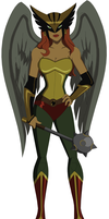 New Hawkgirl by AMTModollas
