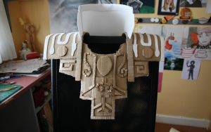 Zant Cosplay Armour WIP 1 by randomzeldafan