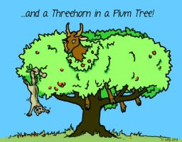 Threehornplumtree by deathmango