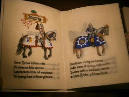 12 Knights of Atlantia - Michael and Gyrth by Merwenna