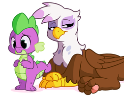 [Commission] Gilda and Spike (Animation) by RaidenGekkou