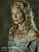 The Walking Dead: Andrea: HDR Re-Edit by nerdboy69