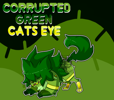 (OC) Corrupted Cats Eye by GoopyCat