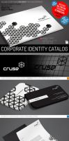 Minimal Creative Corporate Identity Catalog v7 by mucahitgayiran