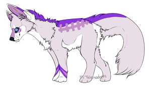Purple Wolf Adopt (OPEN) by TalonsAdopts
