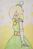 Rosalina's in Queen Merelda's Dress by Punisher2006