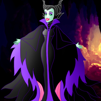 Pretty villains: Malificent by Willemijn1991