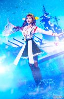 Kongou Cosplay by Vesta by andrewhitc