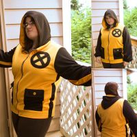 X-Men Hoodie by PackOfChessyCats