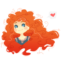 Cute Merida by Sharezii
