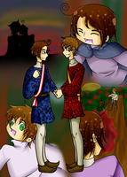 APH- Marriage of the Hapsburgs by KitsuneAngel