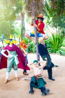 One Piece Group cosplay part 2 by mayuyu0405