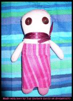 My Spiffy Yet Nameless Doll by forlorn-faerie
