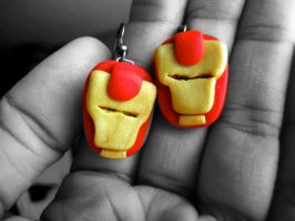 Iron Man Earrings by GoWaterTribe