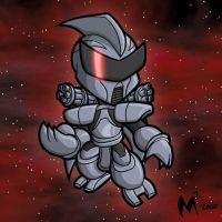 Commission Cylon-former by MattMoylan