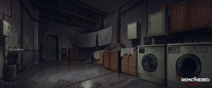 REMOTHERED: Tormented Fathers - Laundry (Concept) by Chris-Darril