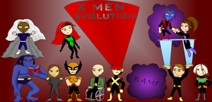 X Men Evolution Chibi by doodleavc14