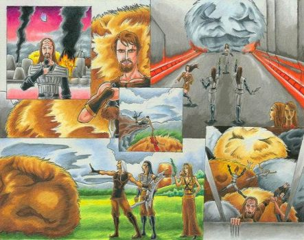 When Tribbles Attack by Scifi-Fans
