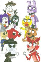 Five Nights With the Puppet Master by SithVampireMaster27