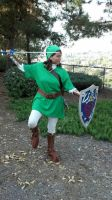 Link cosplay by slygirl1999