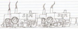The Sodor and Mainland Engines by Blockwave