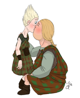 Wee Dingwall x Young MacGuffin by Plixs-1