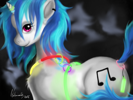 Glowstick Scratch by Winternachts