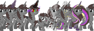The ShadowStone Alicorn Pack by TheShadowStone
