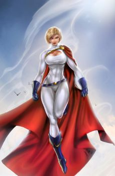 DC Powergirl, day, B. Booth by sinhalite