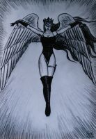 Winged Death by Guorba