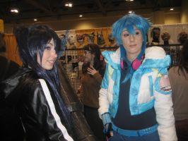 Toronto ComiCON 2014-BRS and Aoba by VentusSkyress14