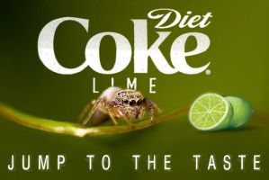 Diet Coke Lime Spider by otas32
