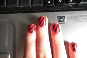 Warbler Nails by Iglee