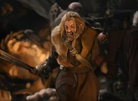 Fili from The Hobbit study by Andy-Butnariu