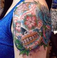 sugar skull by mojoncio