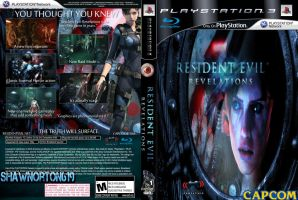 My 2nd Resident Evil: Revelations Cover Ps3 by shawnorton619