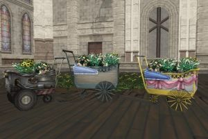 MMD FF7 CC Flower Carts Download by Raven--Lee