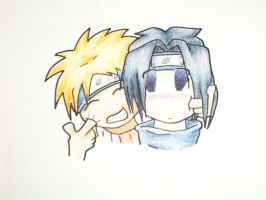 Naruto: Poking makes you smile by needs-a-bullet
