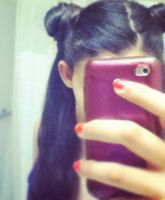 Sailor Moon Hairstyle by ClairexRedfieldxFan